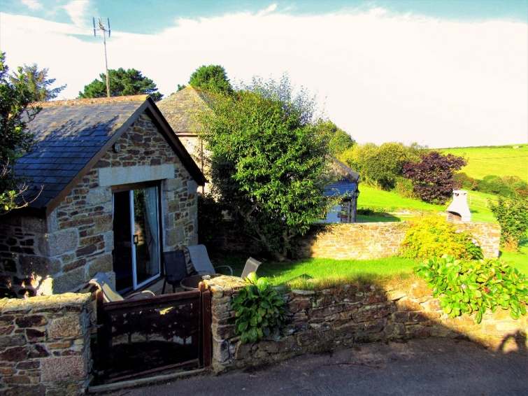 Wildflower Holiday Cottage Newquay - Rear Gate
